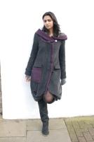 Junky Styling Coat - Hood Down
