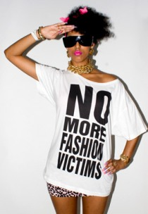 Katharine Hamnett No More Fashion Victims Tee
